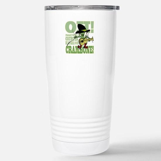 Crambone! Stainless Steel Travel Mug