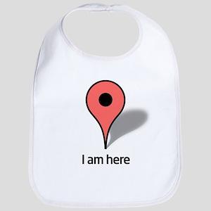Google Map marker Bib