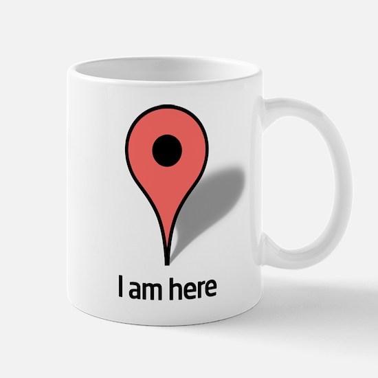 Google Map marker Mug
