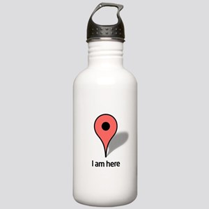 Google Map marker Stainless Water Bottle 1.0L