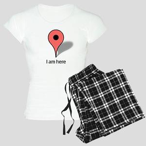 Google Map marker Women's Light Pajamas