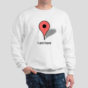 Google Map marker Sweatshirt