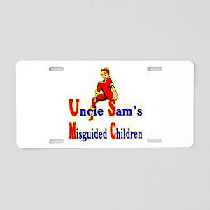 Misguided Children Aluminum License Plate