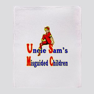 Misguided Children Throw Blanket