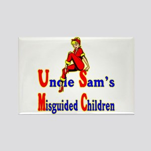 Misguided Children Rectangle Magnet