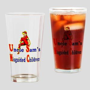 Misguided Children Drinking Glass