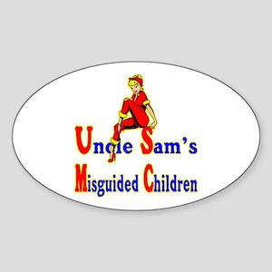 Misguided Children Sticker (Oval)