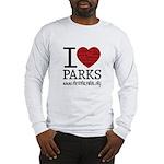 I Heart Parks Long Sleeve T-Shirt