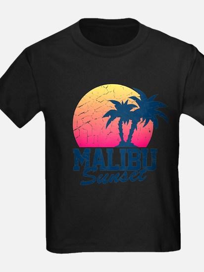 Vintage Malibu Sunset used T