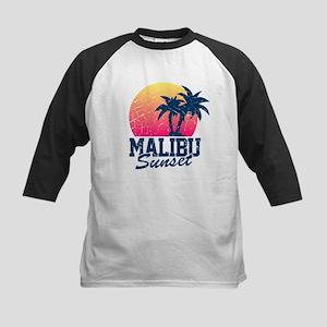 Vintage Malibu Sunset used Kids Baseball Jersey