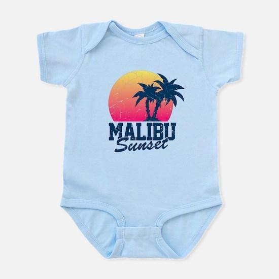 Vintage Malibu Sunset used Infant Bodysuit