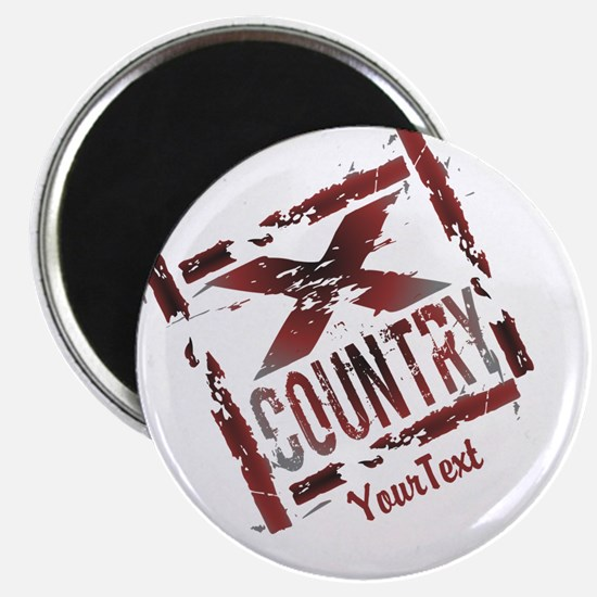 Customize XC Cross Country Magnet