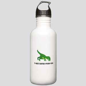 T-Rex Hates Pushups Stainless Water Bottle 1.0L
