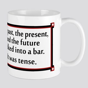 The past, the present, and the future... Mugs