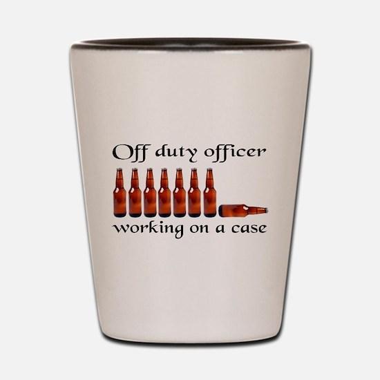 Unique Cop Shot Glass