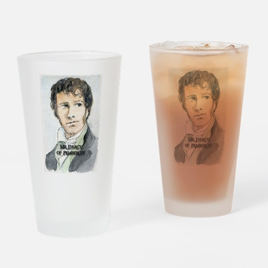 Mr Darcy Of Pemberley Drinking Glass