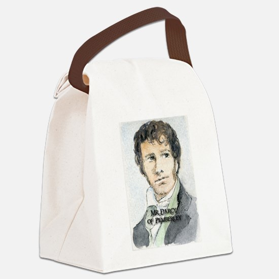 Mr Darcy Of Pemberley Canvas Lunch Bag