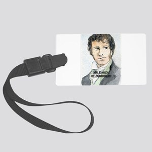 Mr Darcy Of Pemberley Large Luggage Tag