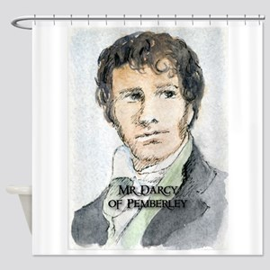 Mr Darcy Of Pemberley Shower Curtain
