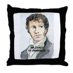 Mr Darcy Of Pemberley Throw Pillow