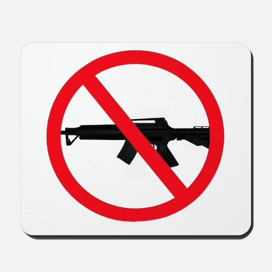 Ban Assault Weapons Mousepad