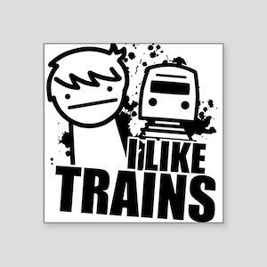 I Like Trains! Sticker