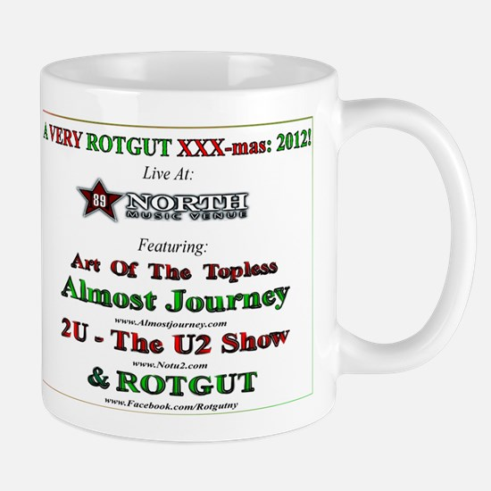 Official ROTGUT 2012 xxx-mas party commemorative M