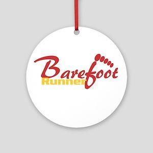 BarefootRunner2 Ornament (Round)