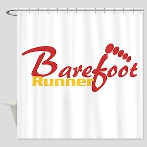 BarefootRunner2 Shower Curtain