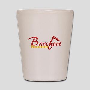 BarefootRunner2 Shot Glass