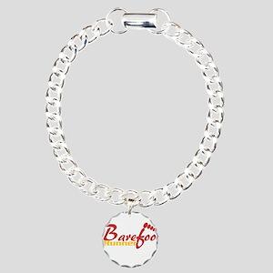 BarefootRunner2 Charm Bracelet, One Charm