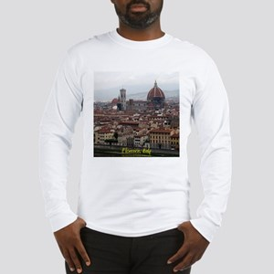 Florence Cityscape Long Sleeve T-Shirt