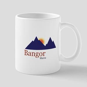 Bangor Maine truck stop novelty tee Mug