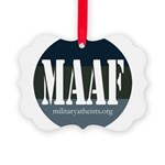 MAAF logo Picture Ornament