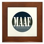 MAAF logo Framed Tile