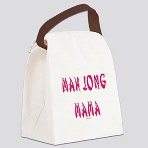 Mah Jong Mama Canvas Lunch Bag