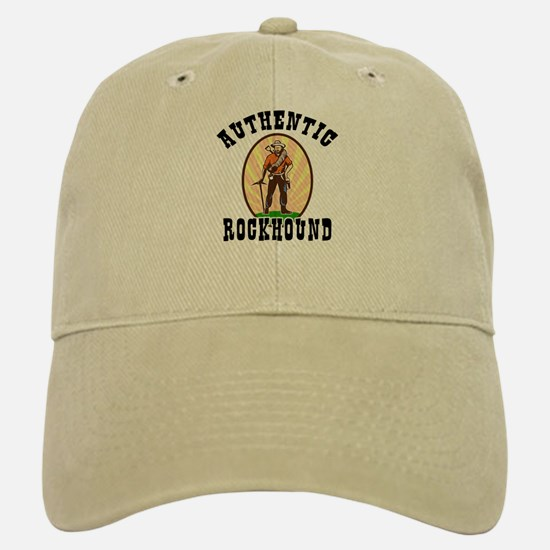 Authentic Rockhound Baseball Baseball Cap