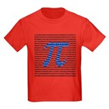 Pi Kids T-shirts (Dark)