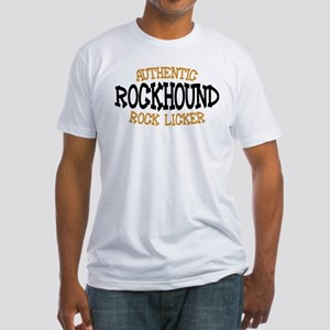 Rockhound Authentic Rock Licker Fitted T-Shirt