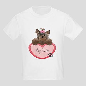 Big Sister Yorkie Heart Baby/ T-Shirt