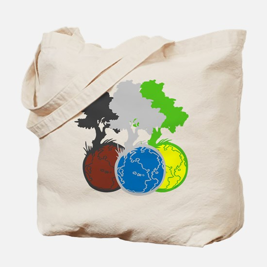 OYOOS Trees Earth design Tote Bag
