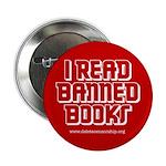 """I Read Banned Books"" Button"