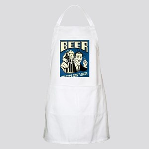 Beer Helping White Guys Dance Light Apron