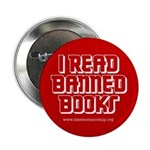 """""""I Read Banned Books"""" 2.25"""" Button (10 pack)"""
