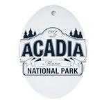 Acadia National Park Ornament (Oval)