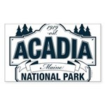 Acadia National Park Sticker (Rectangle 10 pk)