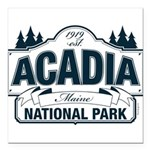 Acadia National Park Square Car Magnet 3