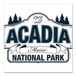 Acadia National Park Square Car Magnet 3