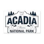Acadia National Park Rectangle Car Magnet