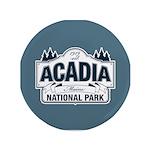 "Acadia National Park 3.5"" Button"